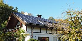 别墅屋顶太阳能发电设备应用案例