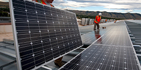 酒店屋顶太阳能发电设备应用案例